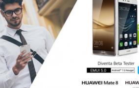 Ecco disponibile la Beta di Android 7.0 con EMUI 5.0 per Huawei Mate 8 e Huawei P9
