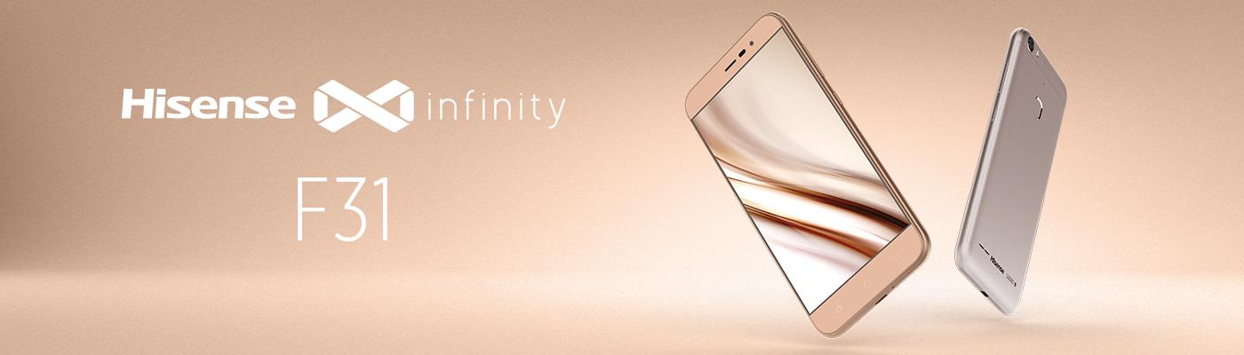 Hisense F31: nuovi smartphone in alluminio