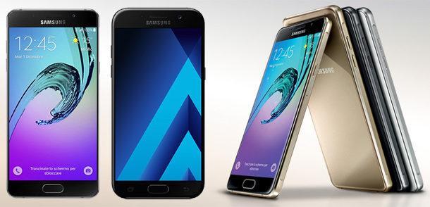 Samsung annuncia l'arrivo dei nuovi Galaxy A