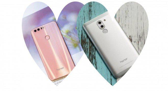 Honor 8 Premium Sakura Pink per lei e Honor 6X per lui, il regalo perfetto per la tua anima gemella !