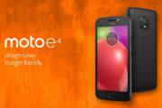 Moto E4 e Moto E4 Plus: i nuovi smartphone Motorola