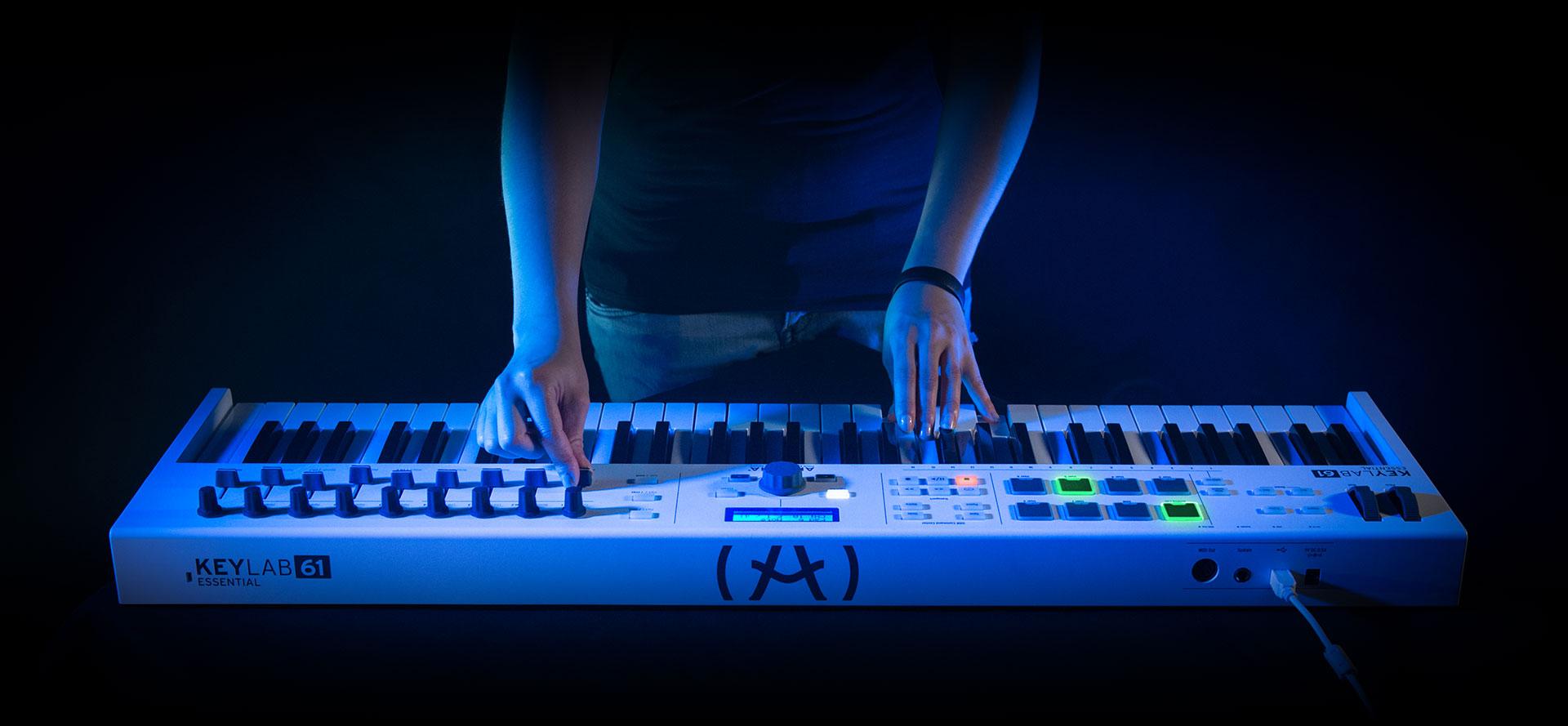 Arturia KeyLab Essential 61: un controller per concentrarsi solo sulla musica