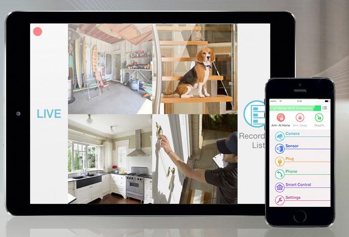 La vostra casa sicura a portata di smartphone? Si chiama Smart Home