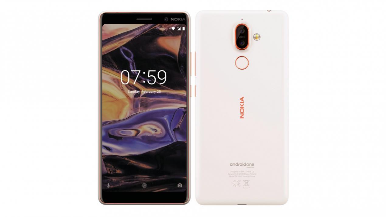 Nokia 7 Plus e Nokia 1 confermati dai render di @evleaks